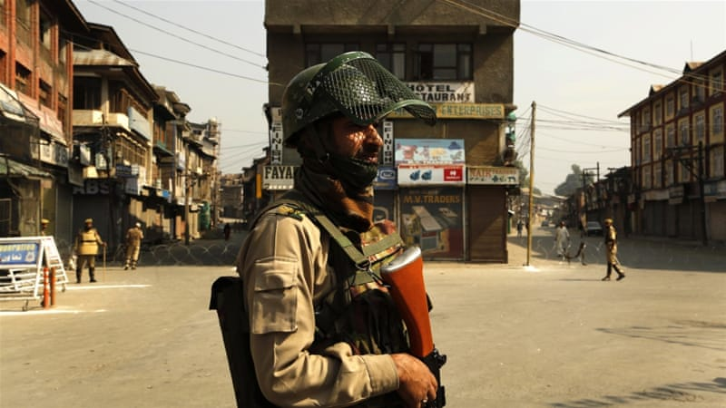 Indian-administered Kashmir has seen an increase in violence over the past two months [AP Photo/Mukhtar Khan]