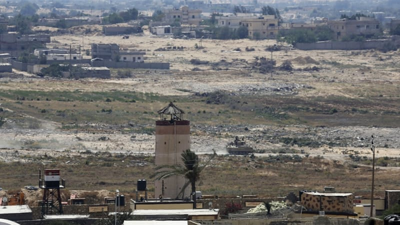 Is Gaza-Sinai state a possibility for Palestinians?