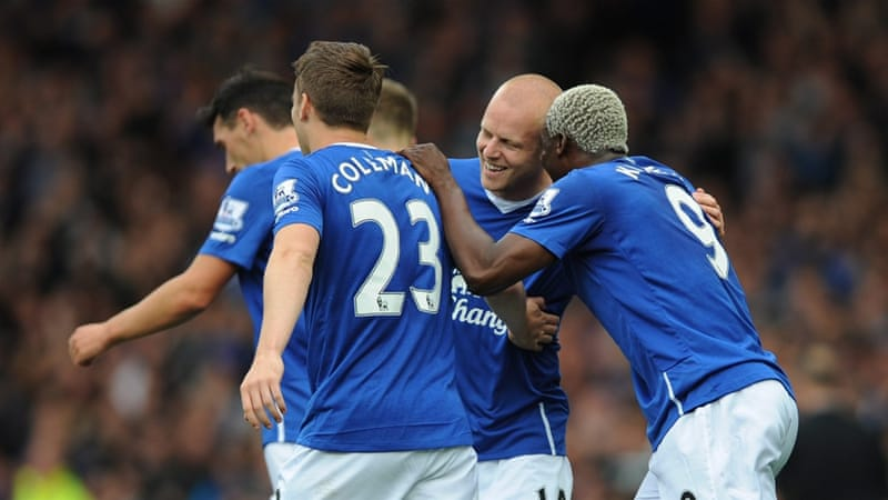 Naismith came on as a sub for the injured Besic [EPA]