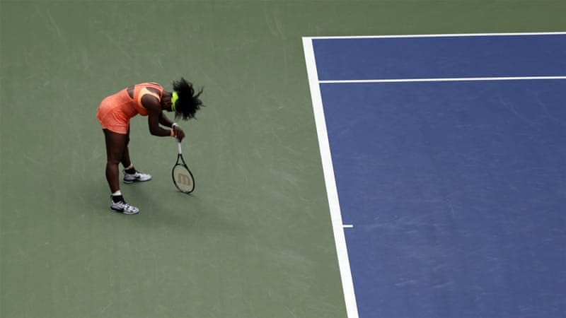 Serena has not played since her shock loss in the US Open semi-final [AP]