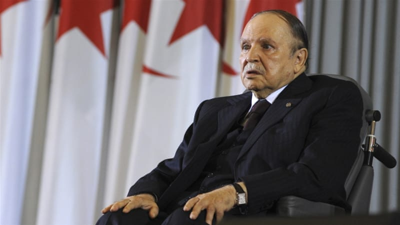 Bouteflika began easing the military and its intelligence wing out of the political sphere before his re-election last April [AP]