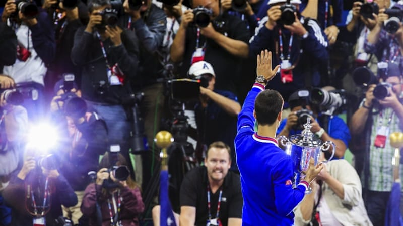 Djokovic rolls over Federer for US Open title