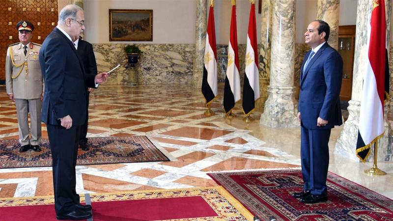 Egypt's el-Sisi swears in new government