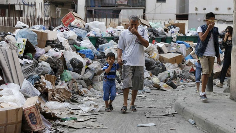 When a society is unable to take care of rubbish disposal, its government is either absent or in deep rot, write Bell and Zada [Reuters]