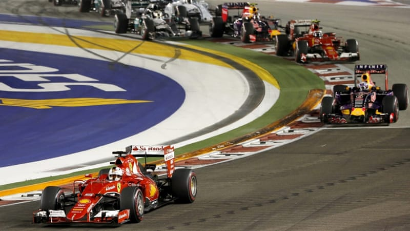 Vettel has won the Singapore GP four times now [EPA]