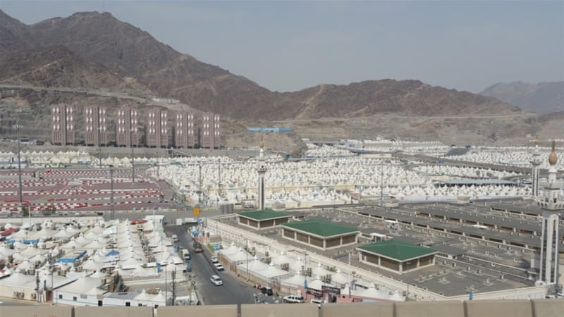 The holy city of Mecca receives about two million pilgrims during Hajj each year [Al Jazeera]