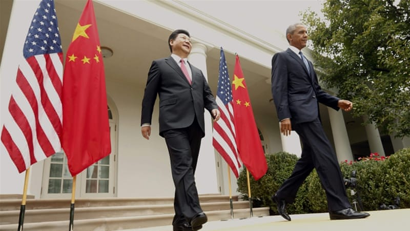 Obama and Xi also reached an agreement on climate change with China committing $3.1bn to help reduce carbon emissions [Reuters]