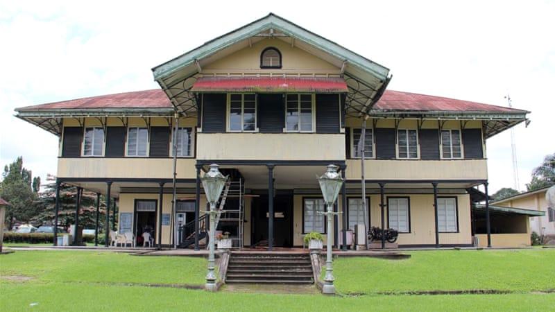 Prefabricated in Britain, the Old Residency building was shipped to Calabar in 1884 [Femke van Zeijl/Al Jazeera]