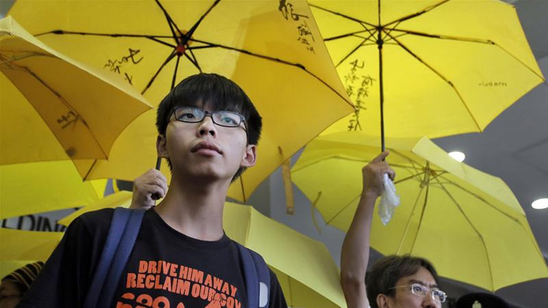 Hong Kong: Student activist Joshua Wong goes on trial