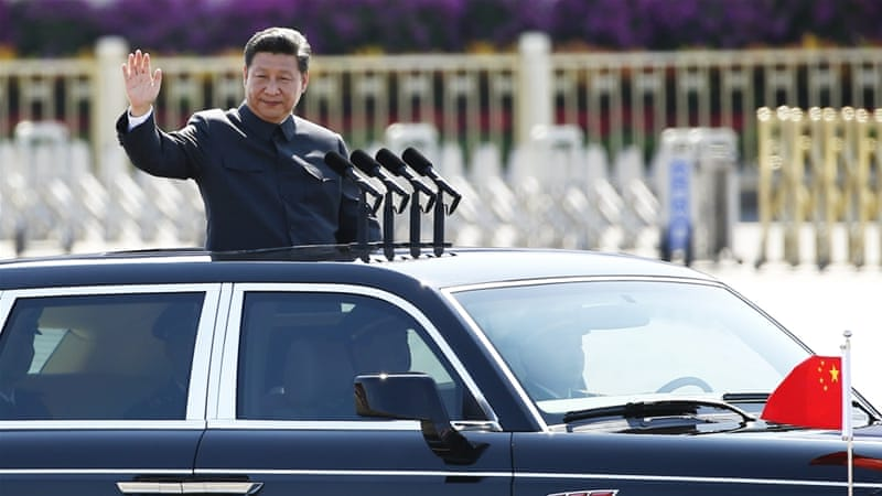 Chinese President Xi Jinping leveraged the event to rally round the flag, presenting his country as a formidable military power, writes Heydarian [Reuters]