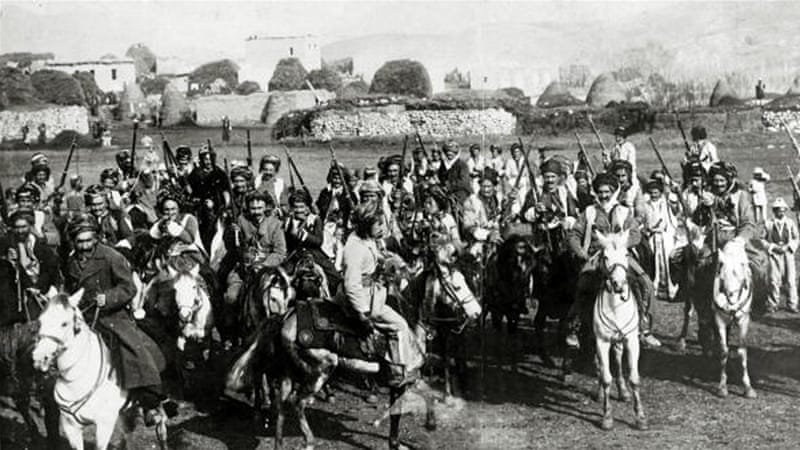 Turkish cavalry on the Asia Minor frontier, 1914-1918 [Getty]