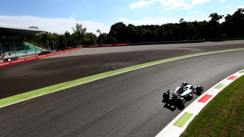Hamilton is now 53 points clear of Rosberg at the top [AP]