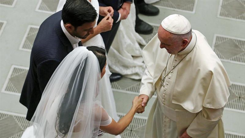 Pope approves fast-tracked marriage annulments