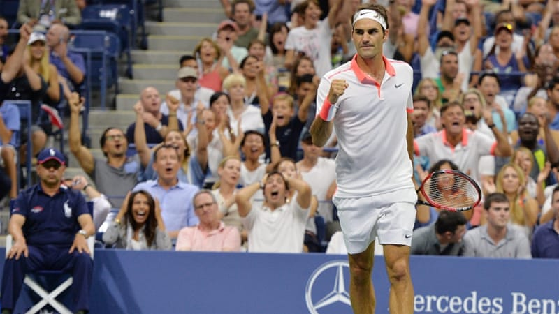 Federer will be taking part in his 46th grand slam quarter-final [EPA]