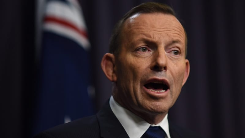 Abbott reversed on comments made on Sunday, when he said Australia was not planning to boost the overall intake of refugees [EPA]