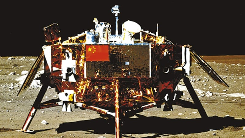 China's became only the third country to land on the moon in 2013 [China National Space Administration]