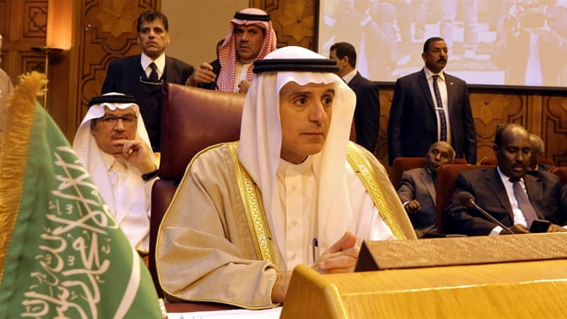 Saudi Arabia's foreign minister said Iran is interfering in Arab affairs and instigating 'sectarian strife' in the Middle East [EPA]