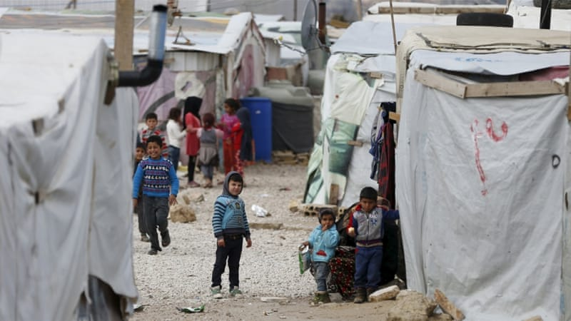 UNICEF says 45% of child refugees are from Syria or Afghanistan [Jamal Saidi/Reuters]