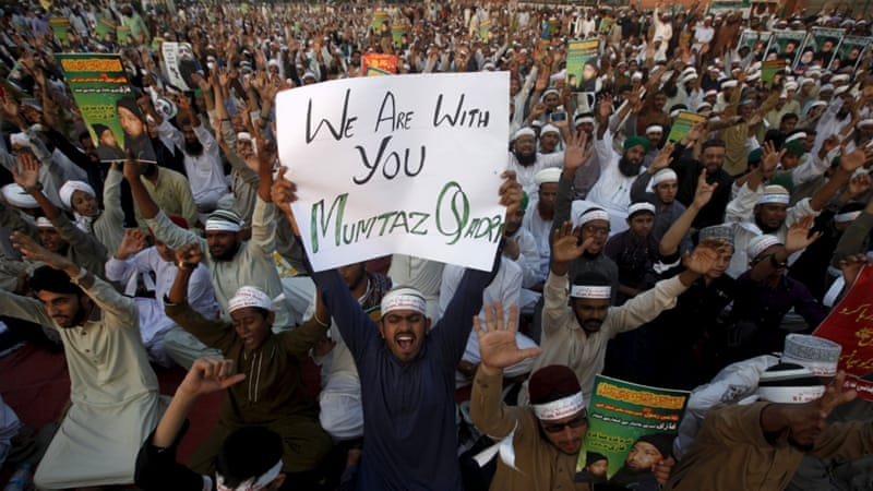 A nationwide strike has been called on Tuesday by Qadri's supporters [Reuters]