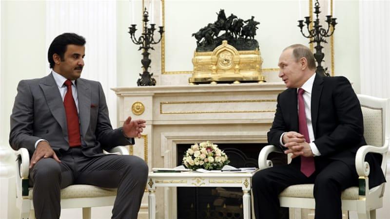 Leaders of Qatar and Russia discuss Syria war | News | Al Jazeera
