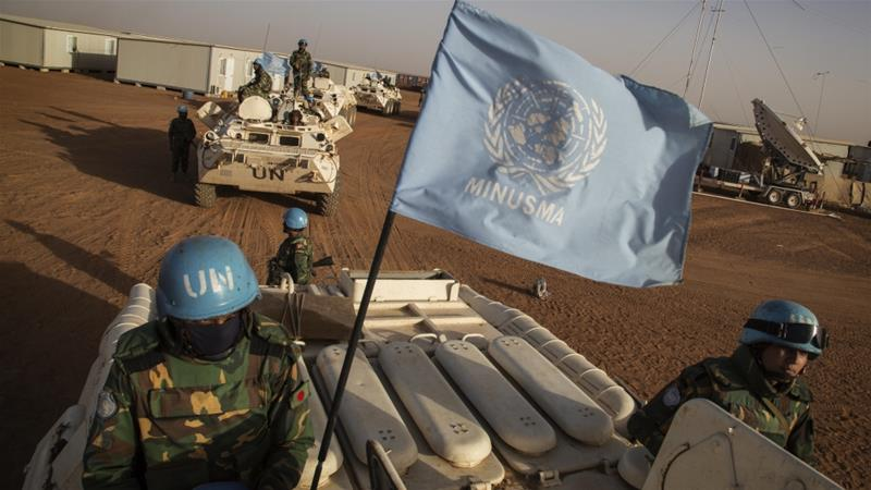 Two UN peacekeepers killed in northern Mali attack