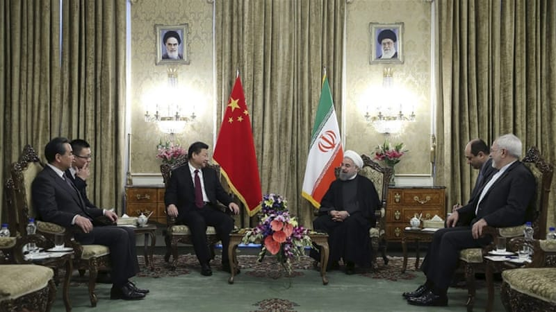 China is beginning to realise that its 'special relationship' forged during Tehran's years of isolation will soon become not so special, writes Heydarian [Reuters]