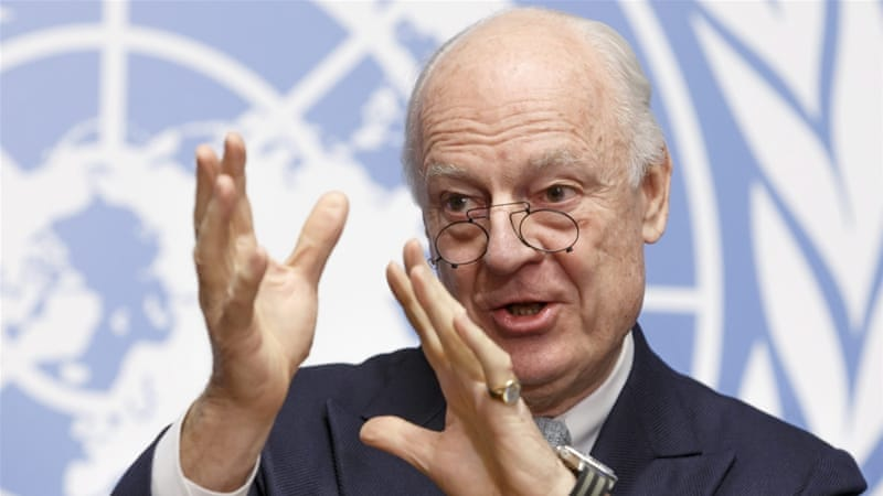 Staffan De Mistura, UN Special Envoy for Syria, said peace talks on Syria could last for six months [EPA]