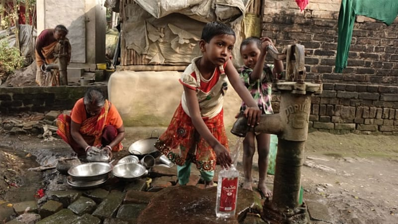 global water india arsenic dr deb Arsenic and fluoride: two major ground water pollutants india increasing human possibility of combined occurrence of arsenic and fluoride in ground water.