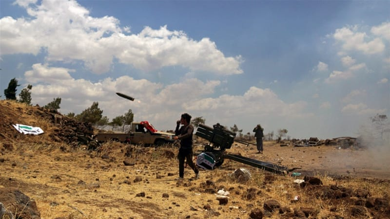 Rebels have expanded their control throughout most of Quneitra province [Alaa al-Faqir/Reuters]