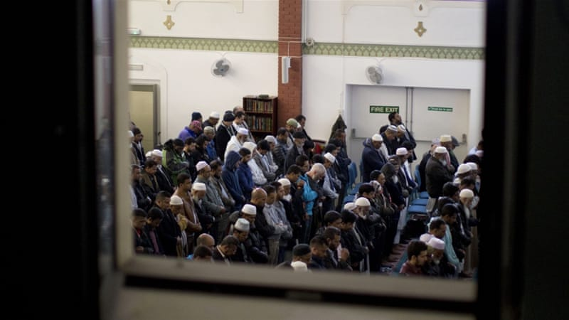 There are at least 2.7 million Muslims in Britain, or less than 5 percent of the 64 million-strong population [Matt Dunham/AP Photo]