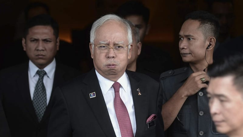 Najib has been under investigation for $673mn  found in his bank accounts, which he said were donations [STR/EPA]