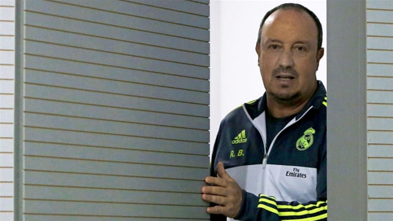 Benitez started his coaching career with Real Madrid's youth section [EPA]