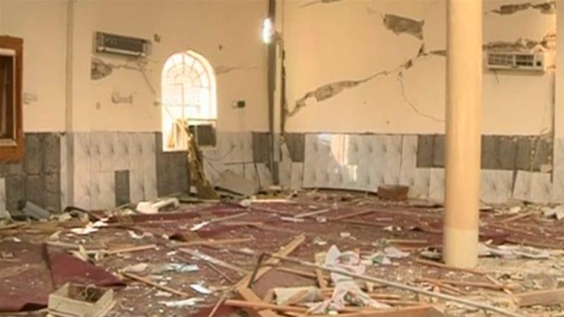 Two of the mosques were located in the Hilla region which lies south of Baghdad [Reuters]