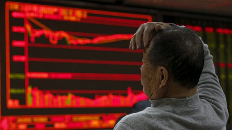 Selling intensified after a brief 15-minute trading halt when main indexes had shed five percent [Kim Kyung-Hoon/Reuters]