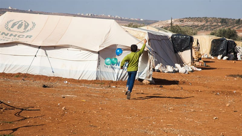 The forgotten pocket of Syriau0027s refugee crisis & The forgotten pocket of Syriau0027s refugee crisis | News | Al Jazeera
