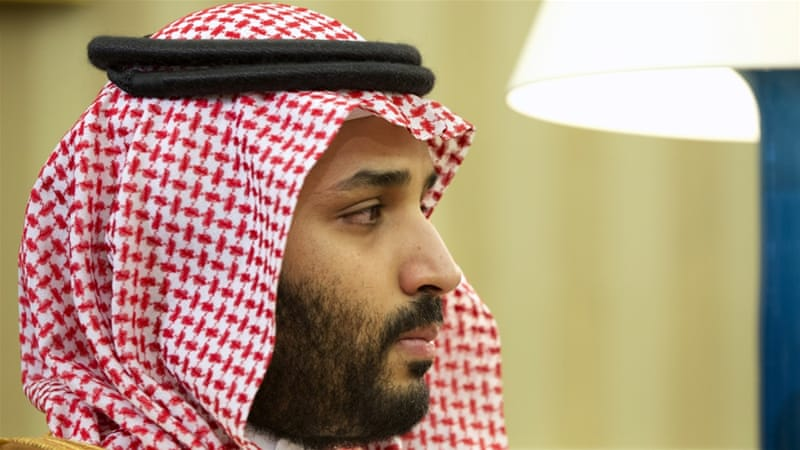 Deputy Crown Prince Salman has drawn up plans to diversify the Saudi economy beyond oil [Jacquelyn Martin/AP]