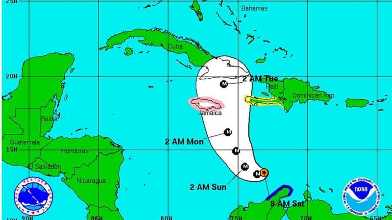 Hurricane Matthew powers to Category 4 major storm
