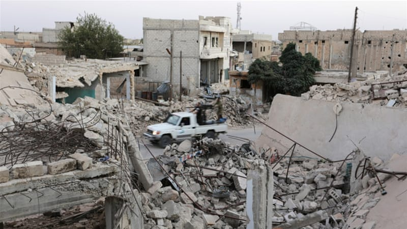 Aleppo hit by fresh wave of air strikes