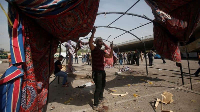 Suicide bomber strikes Shia Muslim gathering in Baghdad