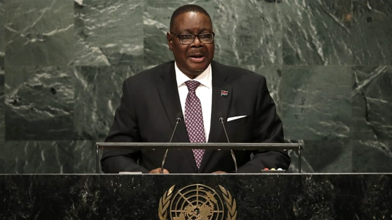 Image result for Peter Mutharika