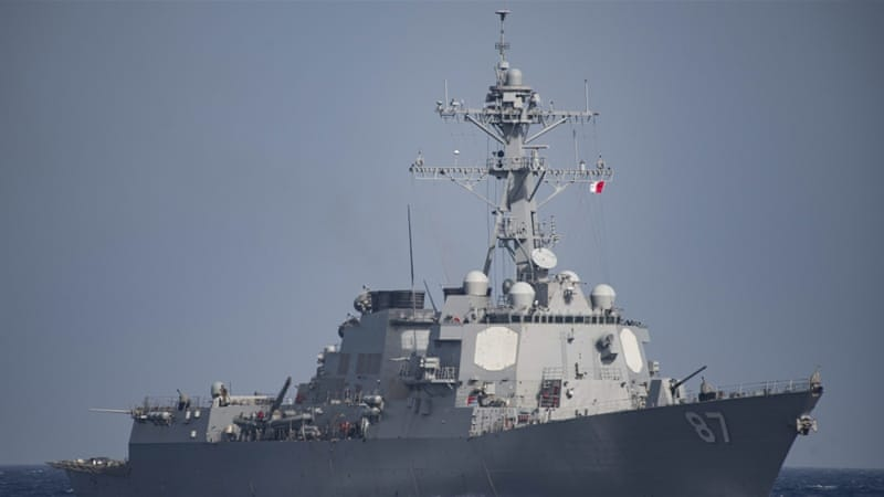 White House Explains Why US Destroyer Fired Warning Shots at Iranian Vessels