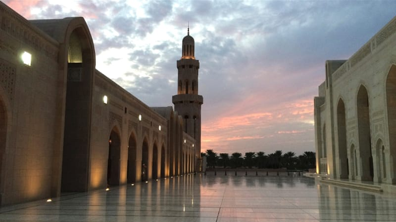 The Sultan Qaboos Grand Mosque in the capital Muscat is one of Oman's major tourist destinations [Baba Umar/Al Jazeera]