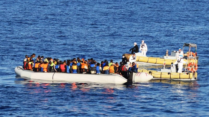 According to the United Nations, at least 3,654 people have died trying to cross the Mediterranean this year [EPA]