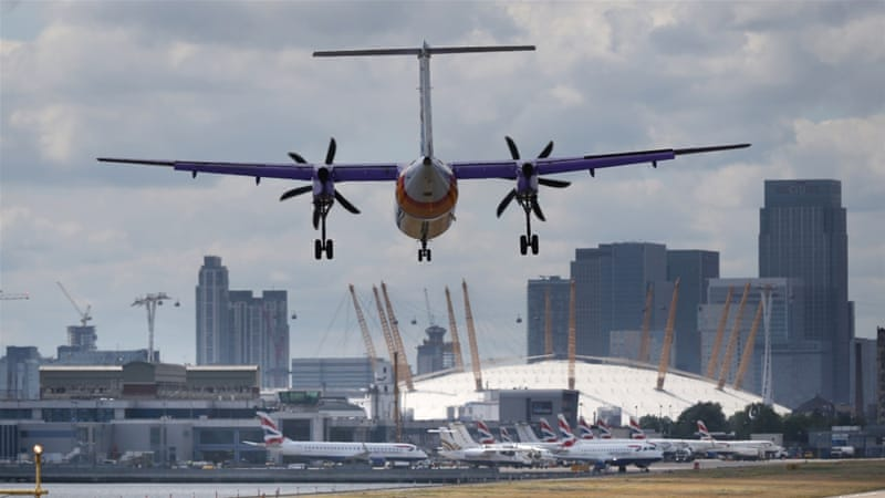 London City Airport is the 13th busiest airport in Britain [Getty Images]