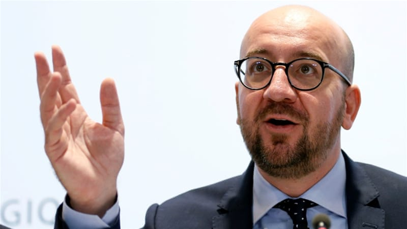 Belgian Prime Minister Charles Michel said some regions are opposed to the EU-Canada pact [AP]