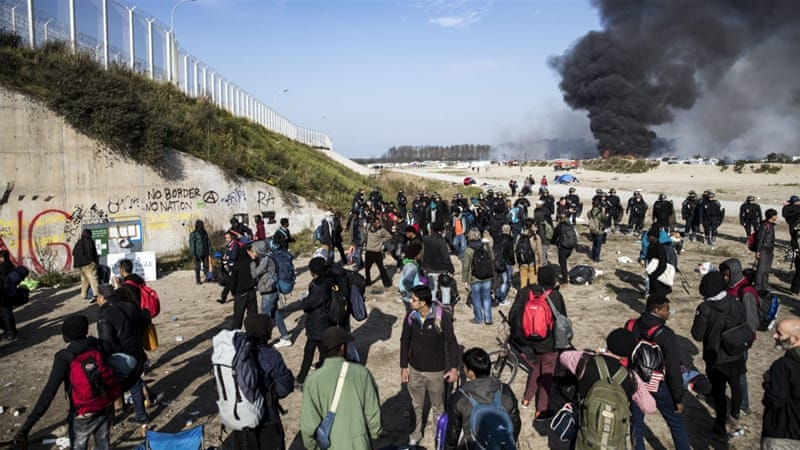 French Authorities Declare Calais 'Jungle' Camp Empty