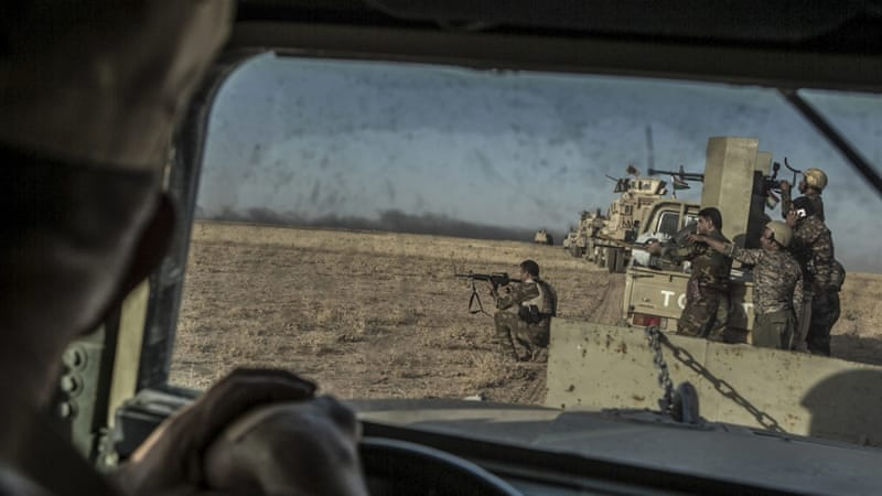 Powers discuss Mosul as Iraq forces inch towards outskirts