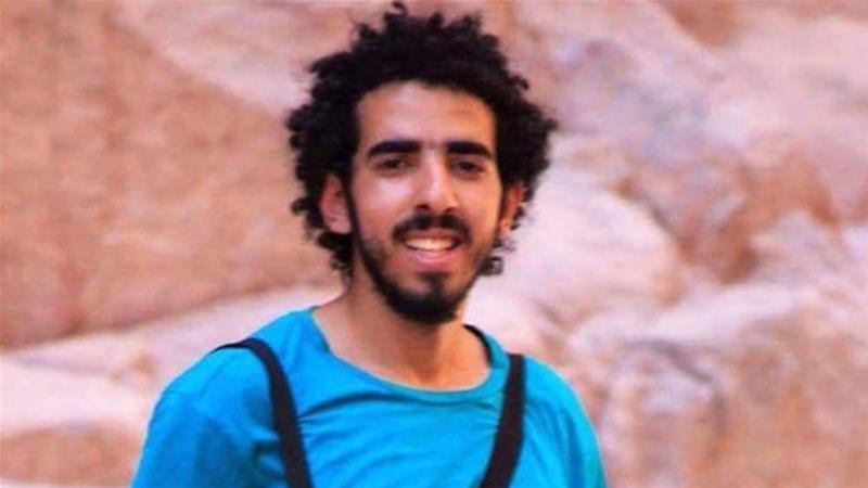Omar Khaled, 22, studies engineering at Cairo's Ain Shams University and is said to be apolitical [Al Jazeera]