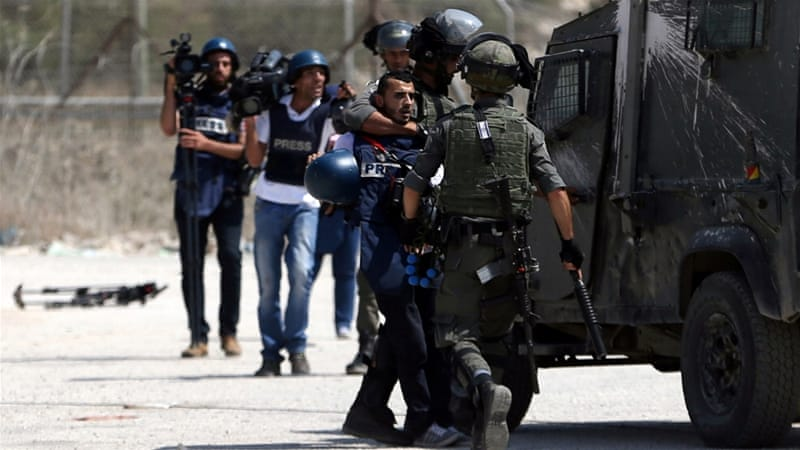 Crackdown aims to silence Palestinian journalists