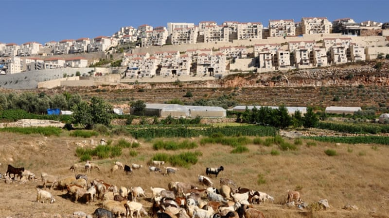 At least 570,000 Israelis were living in the settlements, according to a report released in October [Emily Mulder/Al Jazeera]